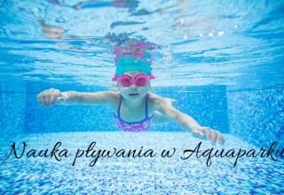 nauka pływania w aquaparku