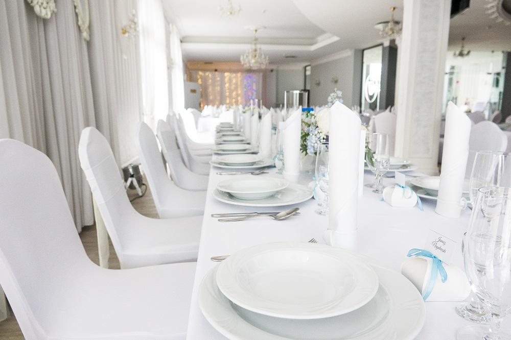 sala weselna w Hotelu Jasek