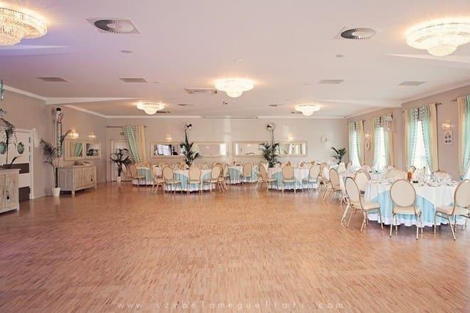 Restauracja Villa Bianco sala weselna