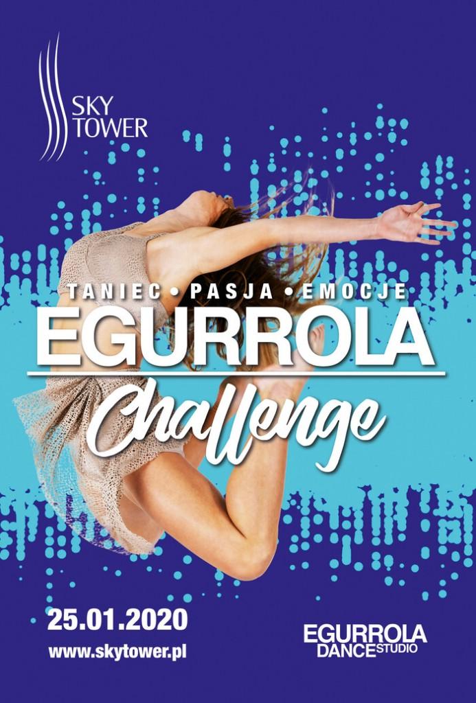 taneczne show w sky tower plakat